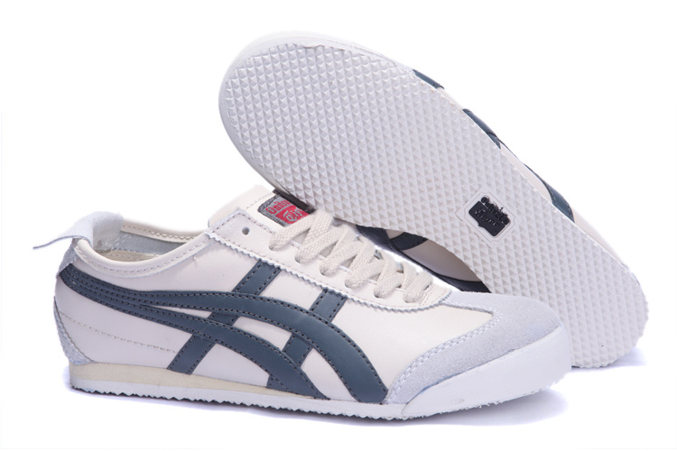Onitsuka Tiger Mexico 66 Lauta Shoes in Oyster Grey