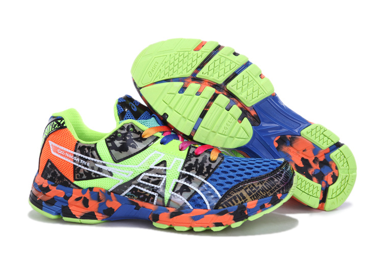 Asics GEL-NOOSA TRI 8 Mens Running Shoes-Onyx Red Confetti