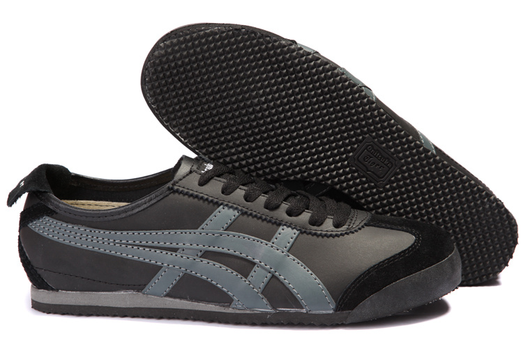 Onitsuka Tiger Mexico 66 Lauta Shoes in Black Ash