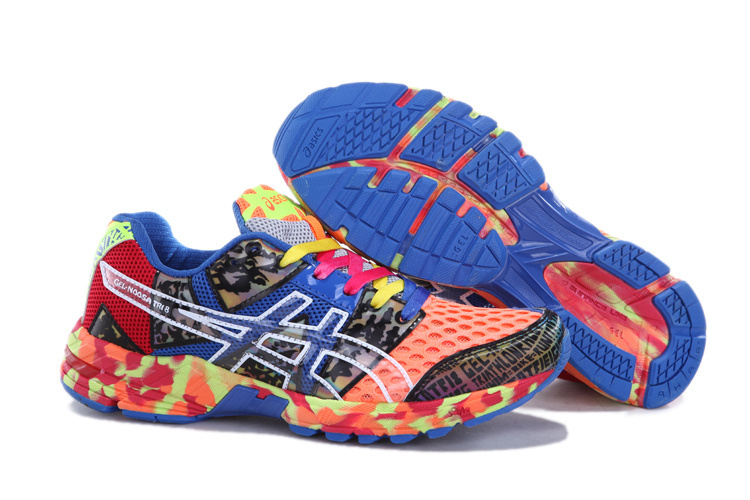 Asics GEL-NOOSA TRI 8 Womens Running Shoes-Red Onyx Confetti