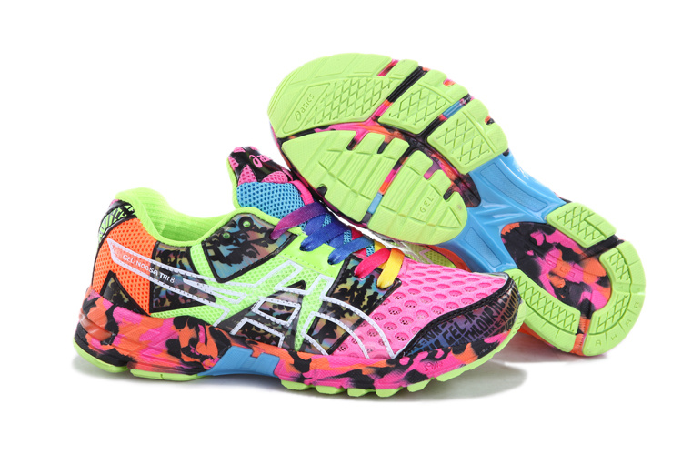 Asics GEL-NOOSA TRI 8 Womens Running Shoes-Pink Onyx Confetti