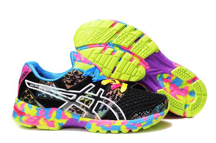 Asics GEL-NOOSA TRI 8 Womens Running Shoes-Black Onyx Confetti