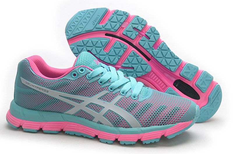 ASICS GEL-Hyper 33 lody shoes grey pink white