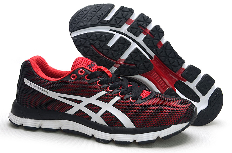 ASICS GEL-Hyper 33 lody shoes red black white