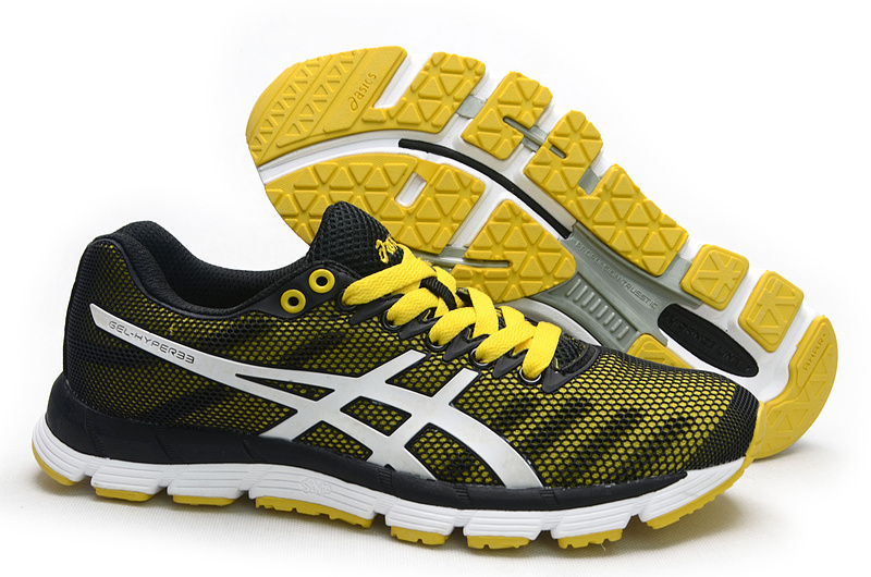 ASICS GEL-Hyper 33 lody shoes yellow black white