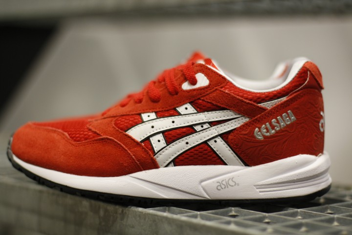 ASICS Gel Saga Gel Lyte III 3 Men Bruce lee soil Valentine shoes