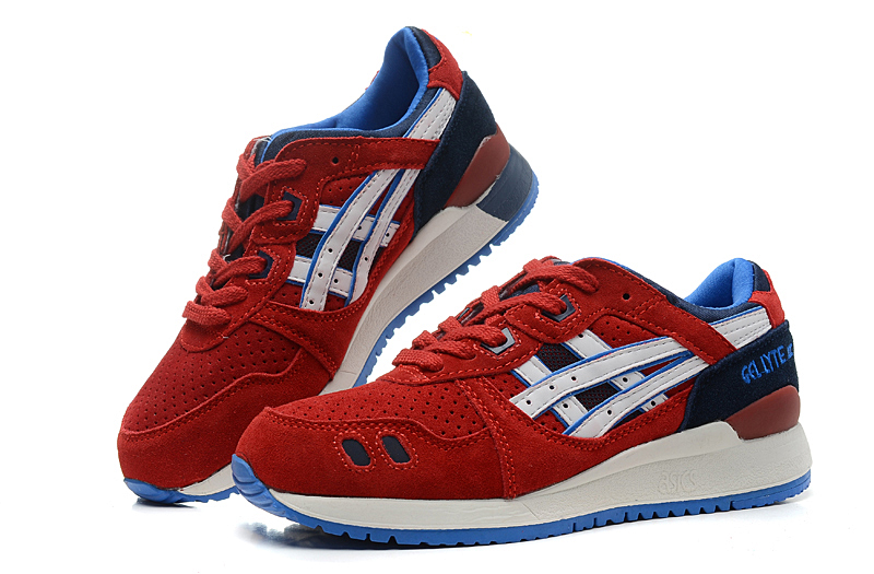 ASICS Gel Saga Gel Lyte III 3 men shoes all red