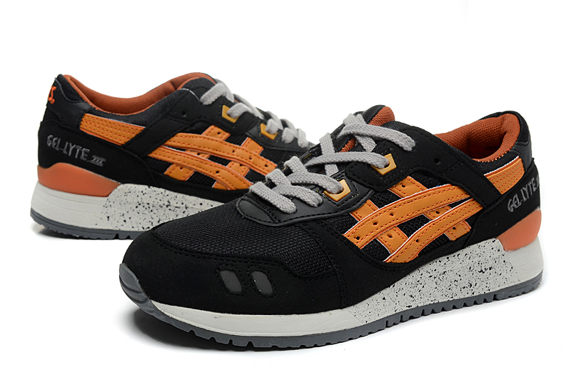 ASICS Gel Saga Gel Lyte III 3 men shoes black glod