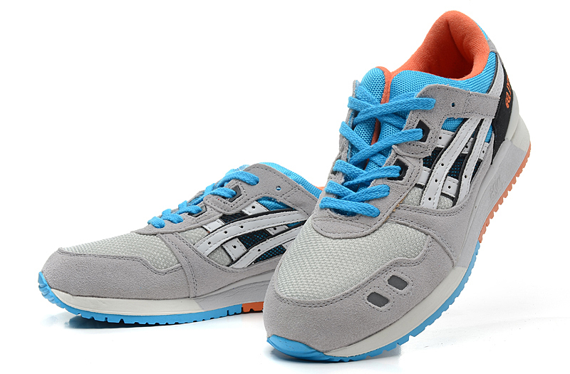 ASICS Gel Saga Gel Lyte III 3 mens shoes grey blue