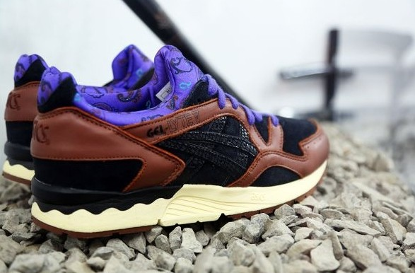 ASICS Gel Saga Gel Lyte V5 5 men shoes brown black