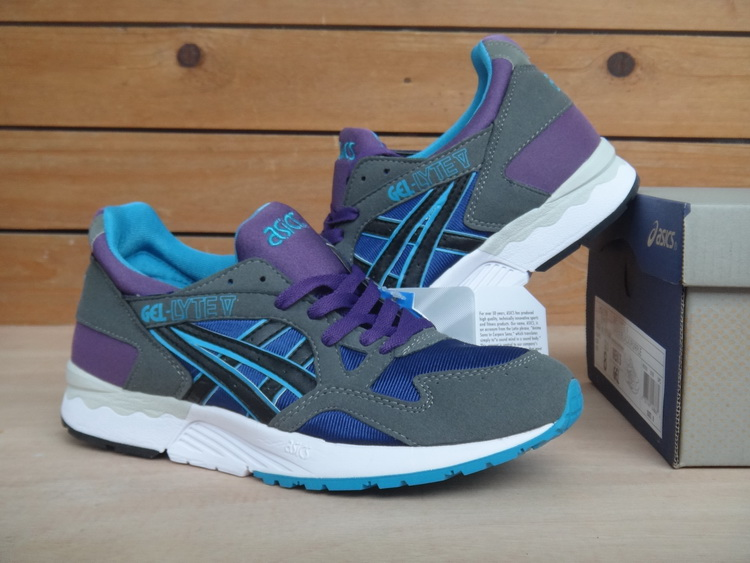 ASICS Gel Saga Gel Lyte V5 5 men shoes grey purple