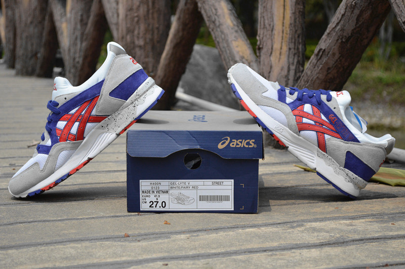 ASICS Gel Saga Gel Lyte V5 5 men shoes white blue red