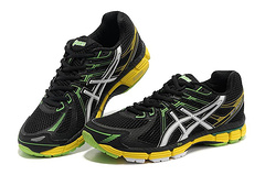 Asics GT-2000 black white yellow