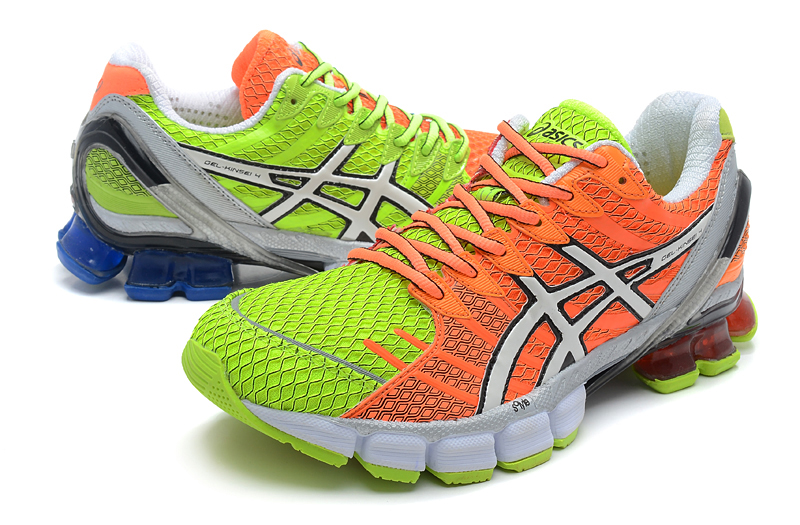 Asics Gel Kinsei 4 men green orange white blue