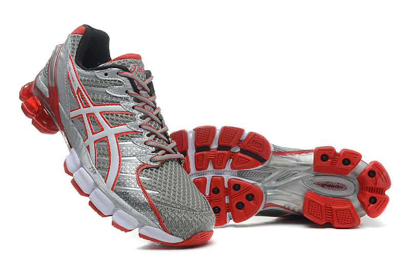 Asics Gel Kinsei 4 men grey red white