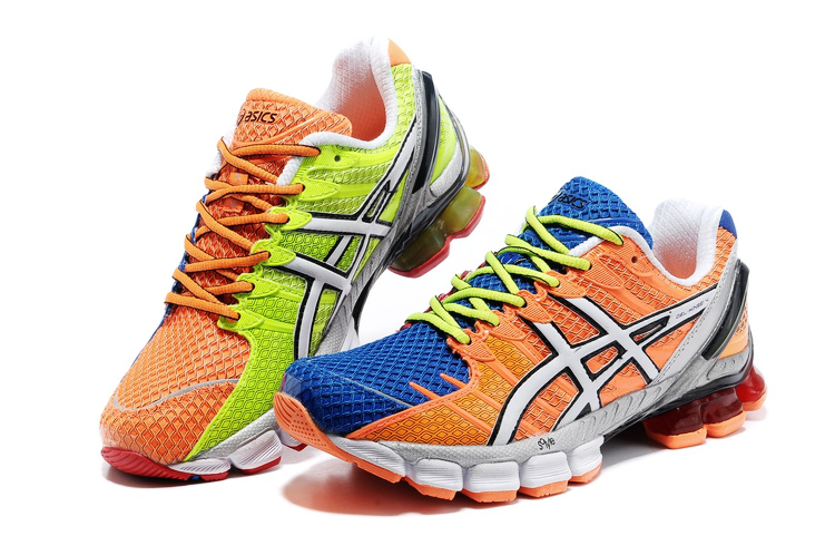 Asics Gel Kinsei 4 men orange blue green white