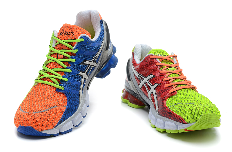 Asics Gel Kinsei 4 men orange green blue white