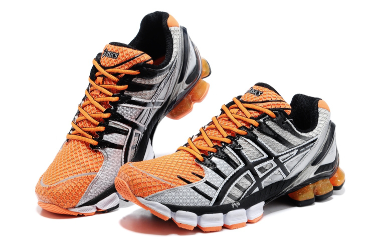 Asics Gel Kinsei 4 men orange grey black