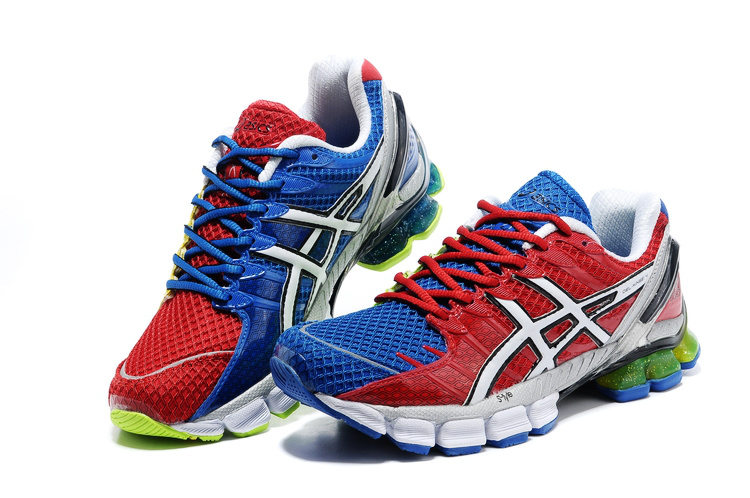 Asics Gel Kinsei 4 men red blue white