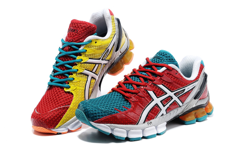Asics Gel Kinsei 4 men red green yellow white