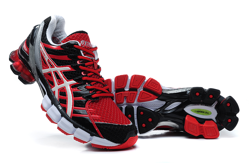 Asics Gel Kinsei 4 men red black