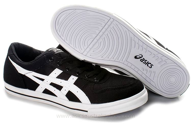 Asics Alton Black White mens Shoes