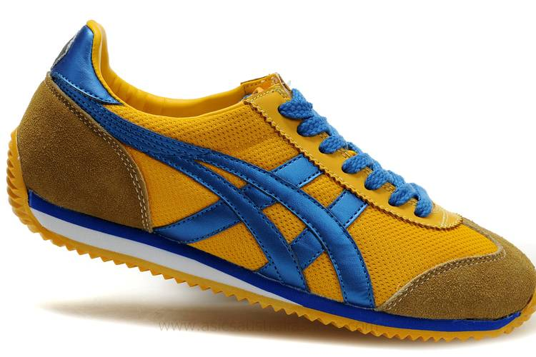 Asics California 78 Yellow Navy Shoes