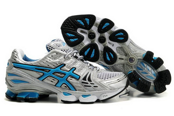 Asics Gel Kinsei 2 mens Silver Blue Shoes