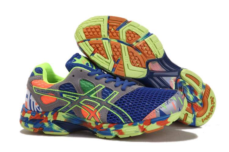 Asics Gel noosa TRI 7 Blue Grey Green