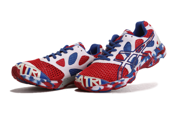 Asics Gel noosa TRI 7 Red White Blue