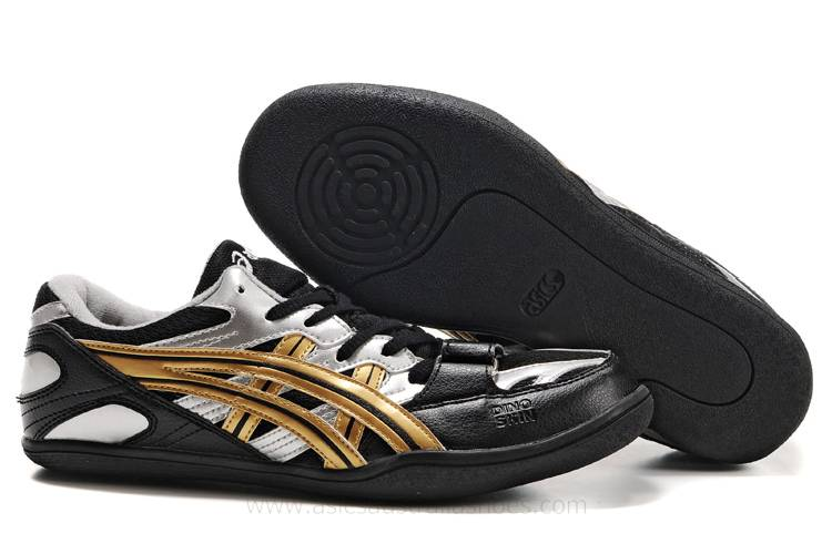 Asics Japan AR mens Black Silver Gold Shoes
