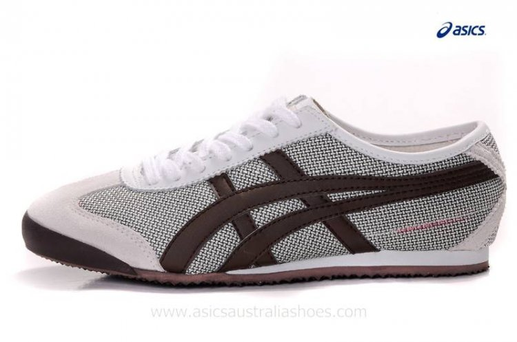 Onitsuka Tiger Kanuchi White Brown Shoes