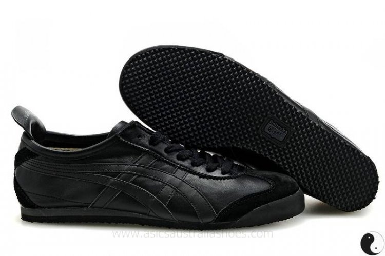 Onitsuka Tiger Mexico 66 Black Shoes