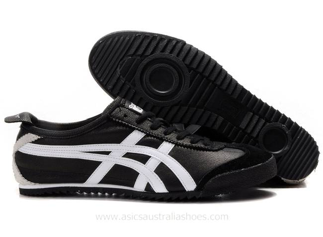 Onitsuka Tiger Mexico 66 Deluxe Black White Shoes