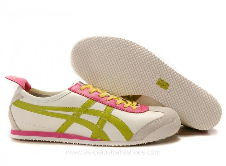 Onitsuka Tiger Mexico 66 Lauta Beige Pink Shoes