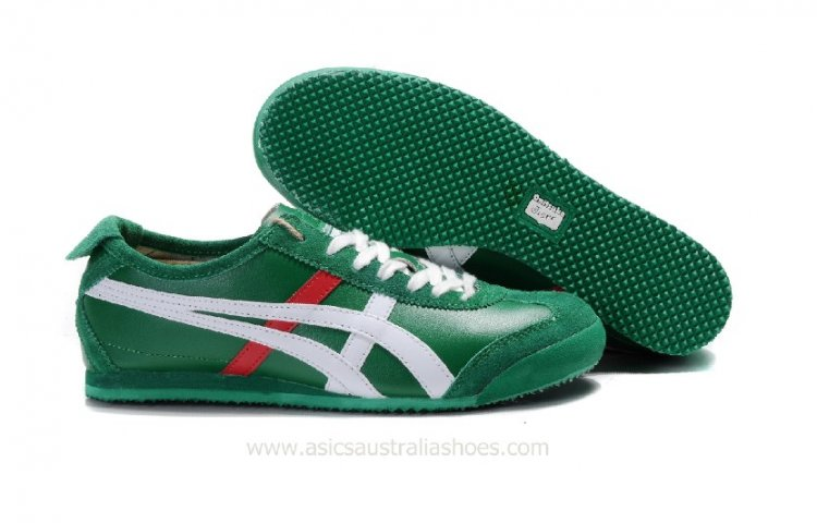 Onitsuka Tiger Mexico 66 Lauta Green White Shoes