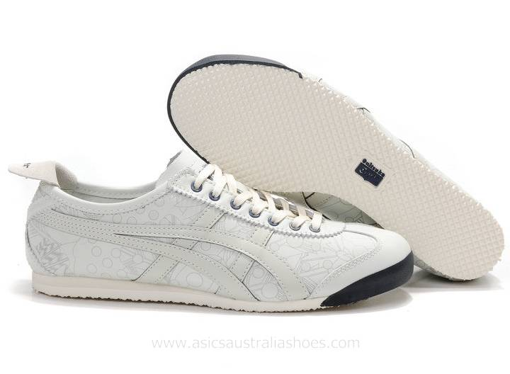 Onitsuka Tiger Mexico 66 Lauta Light Grey/Navy Shoes