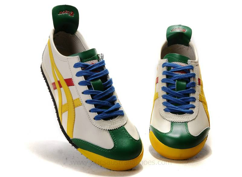 Onitsuka Tiger Mexico 66 Lauta Shoes Beige/Yellow/Green