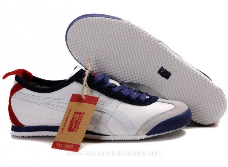187ebe49f635 Onitsuka Tiger Mexico 66 Lauta White Navy Red Shoes  AS-00743 ...