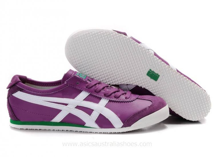 Onitsuka Tiger Mexico 66 Purple White Shoes