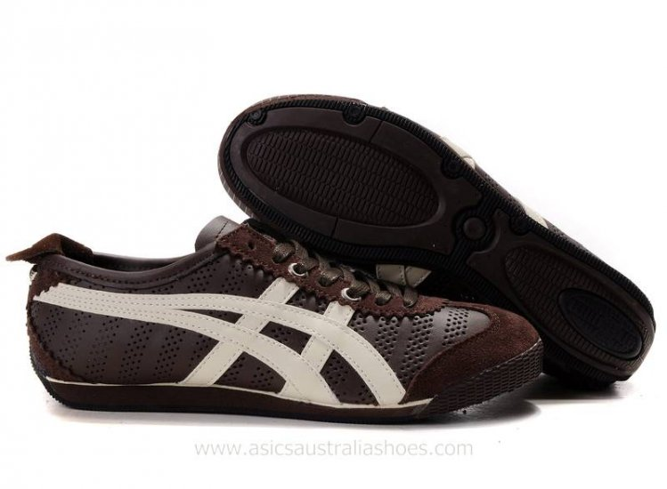 Asics Onitsuka Tiger Mini Brown Beige Shoes