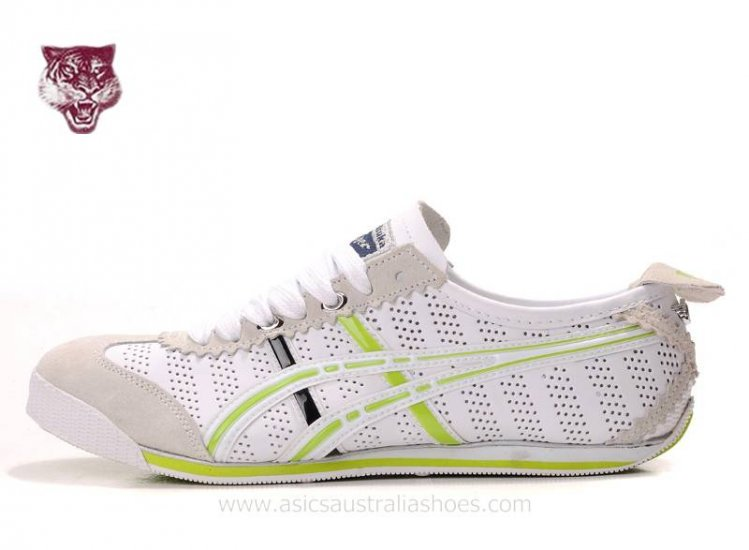 Asics Onitsuka Tiger Mini White Green Shoes