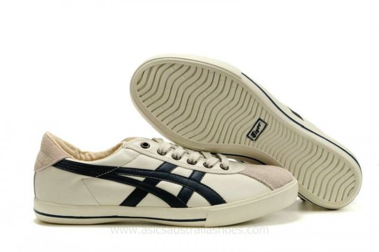 5e689d1a1b7d Asics Rotation 77 men Beige Black Shoes  AS-00481  -  94.10   Asics ...