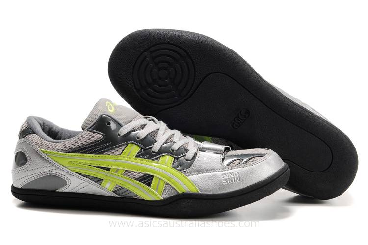 Asics Suroingu Japan AR mens Silver Yellow Shoes