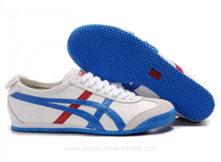 Asics Tiger Mexico 66 Shoes White Blue