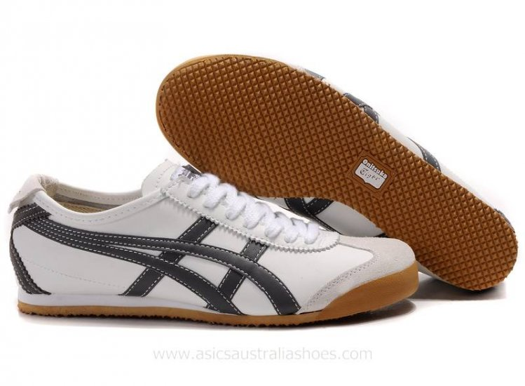 Asics Tiger Mexico 66 White Black Shoes