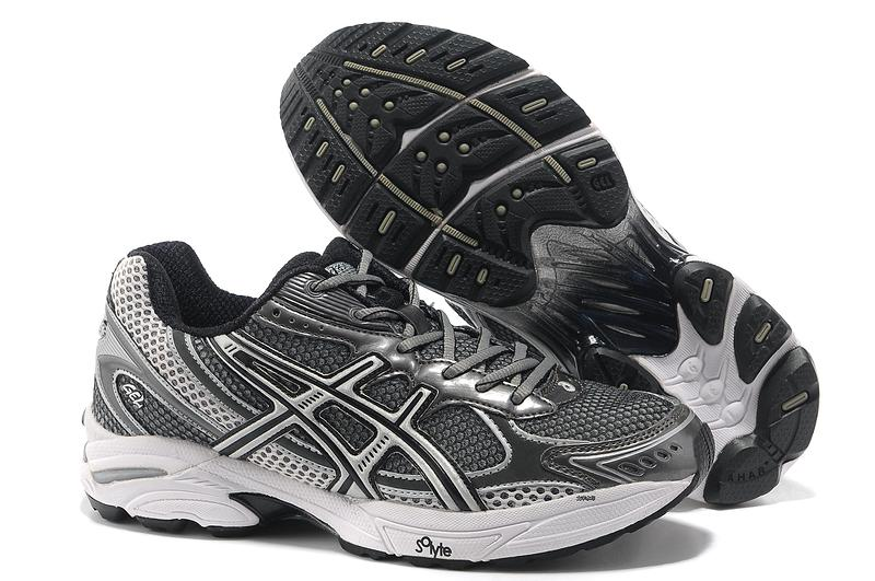 Asics Gel Cushioning T004N Running Shoes 2013 New Style Mens Shoes Iron Gray-Black-Sliver