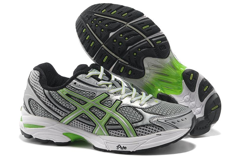 Asics Gel Cushioning T004N Running Shoes 2013 New Style Mens Shoes Sliver Gray Fluorescent Sliver