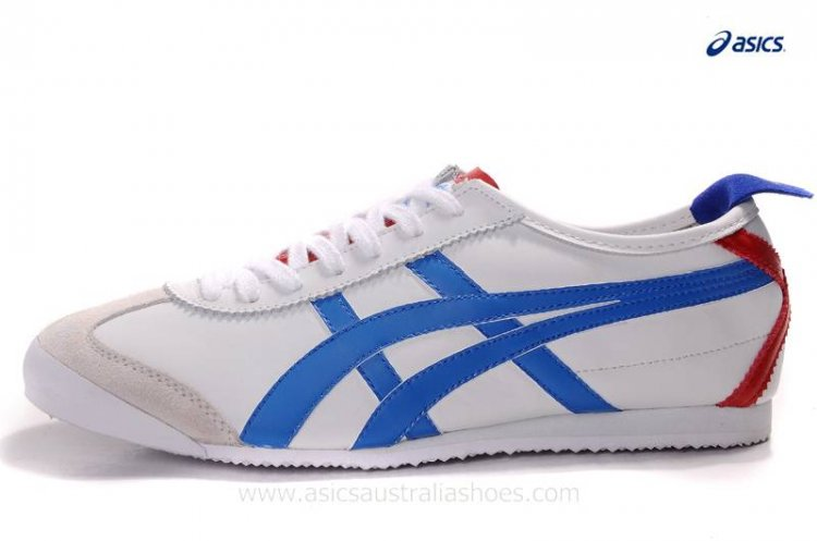 Onitsuka Kanuchi White Blue Red Shoes