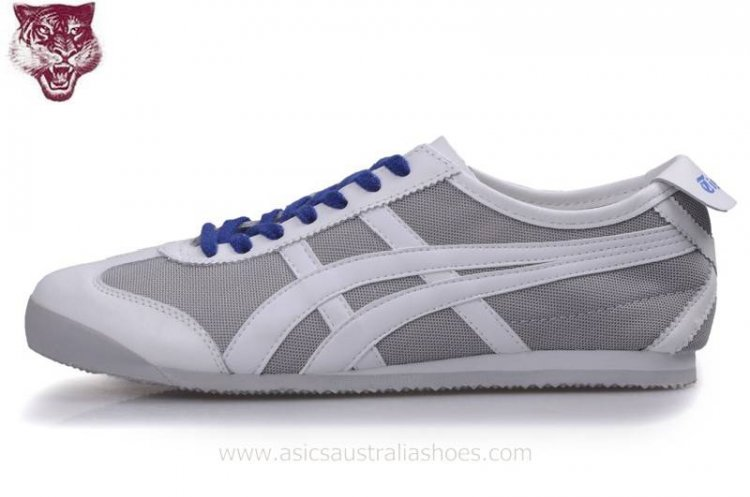 Onitsuka Kanuchi White Grey Blue Shoes